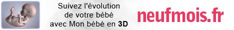 Mon bébé en 3D sur neufmois.fr