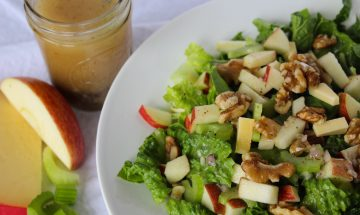 salade de pommes et de celeri