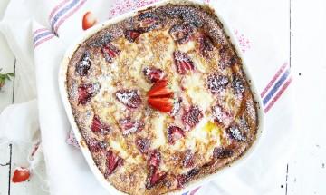 clafoutis-recette-aux-fraises