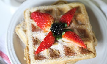 gaufre glacee