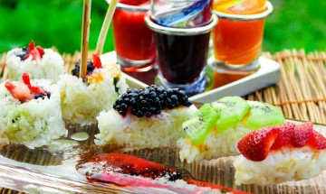 sushis confiture