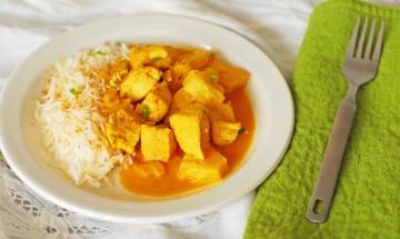 curry de poulet a lananas