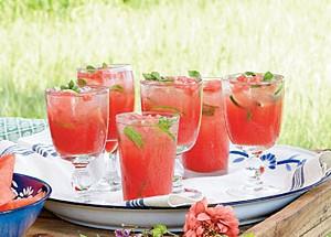 recette cocktail a la pasteque