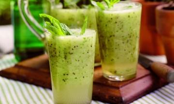 recette cocktail kiwi et litchi