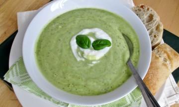 recette courgette et avocat pour une soupe froide