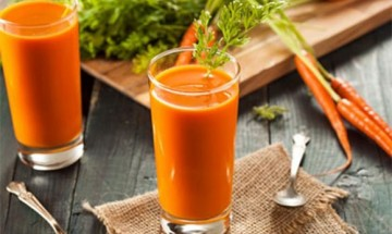 jus de carotte orange et gingembre