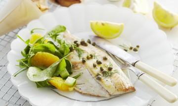 poisson raie aux agrumes