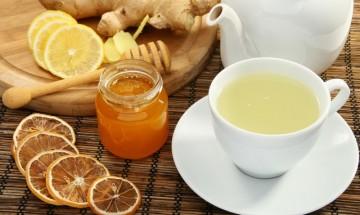 tisane au citron et au miel