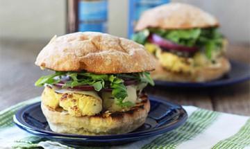 recette burger vegetarien pesto