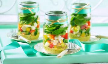 salade doeufs et legumes