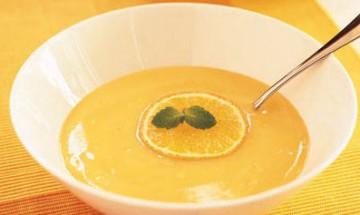 soupe de mandarine
