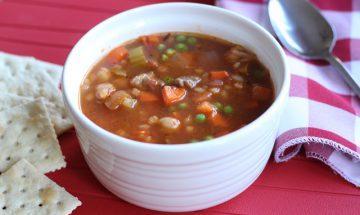 Soupe boeuf carottes orge