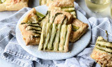 visuels recette maman tarte aux asperges et au fromage