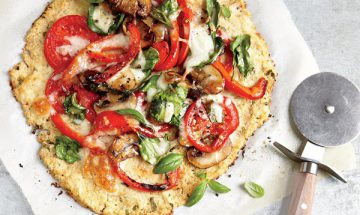 recette  pizza pate chou fleur