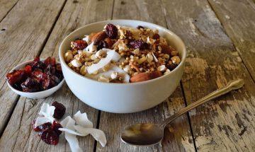 recette quinoa gout caramel canneberges seches
