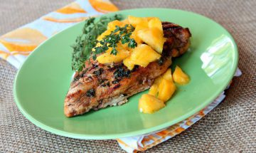 Balsamic-Mango-Marinated-Grilled-Chicken