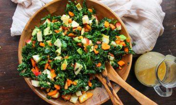 Recette bowl pommes de terre et chou kale