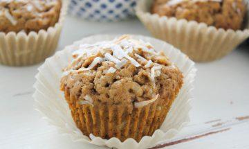 muffins a la coco vegan