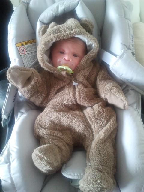 Dean,mon petit tresor ne le 08 fevrier 2014