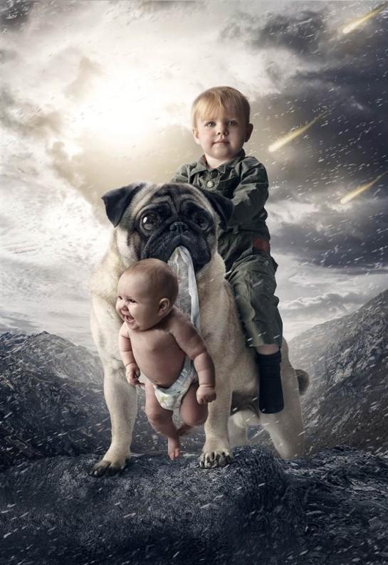 bébé photoshop