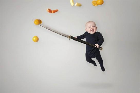 bébé photoshop4