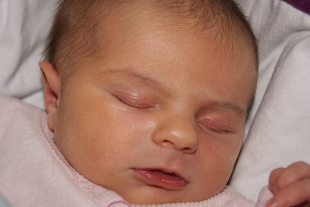 candice ,née le 3 février dernier