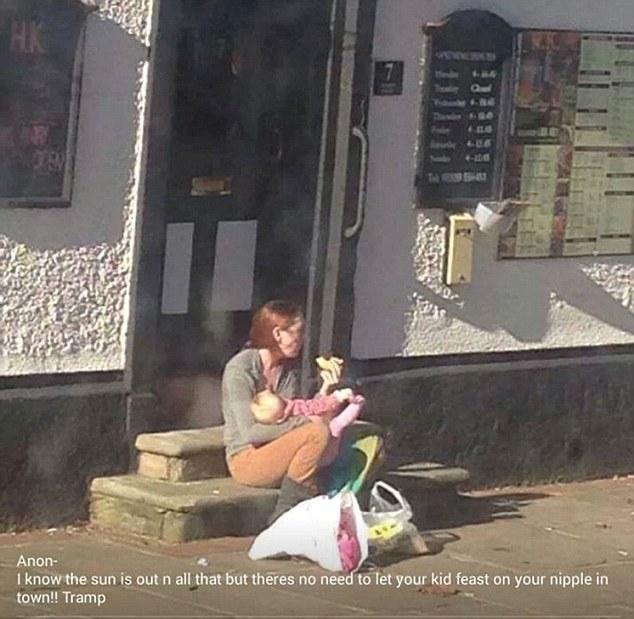Emily Slough Breastfeeding Mum