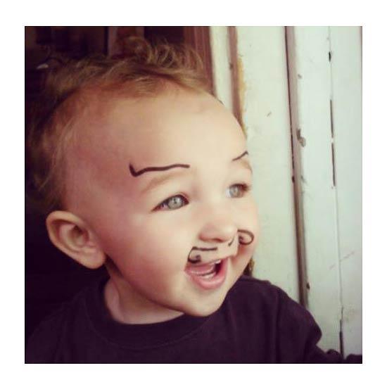bebe moustache 2