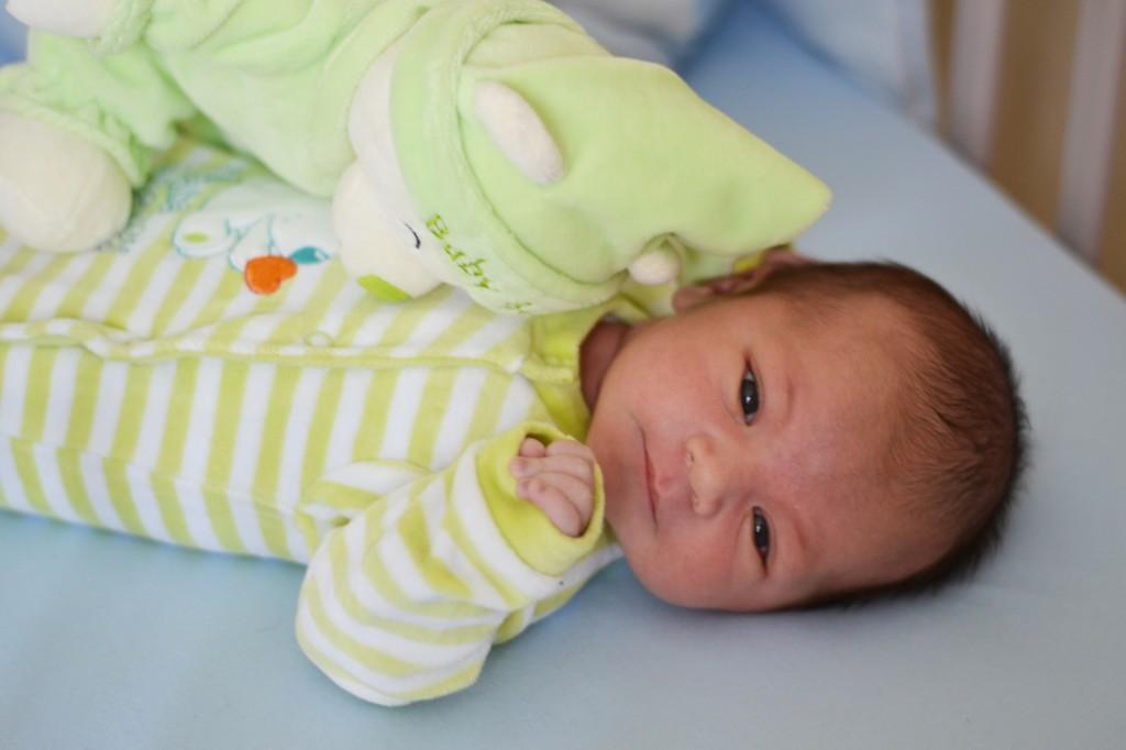 Ethan, né le 14 août.