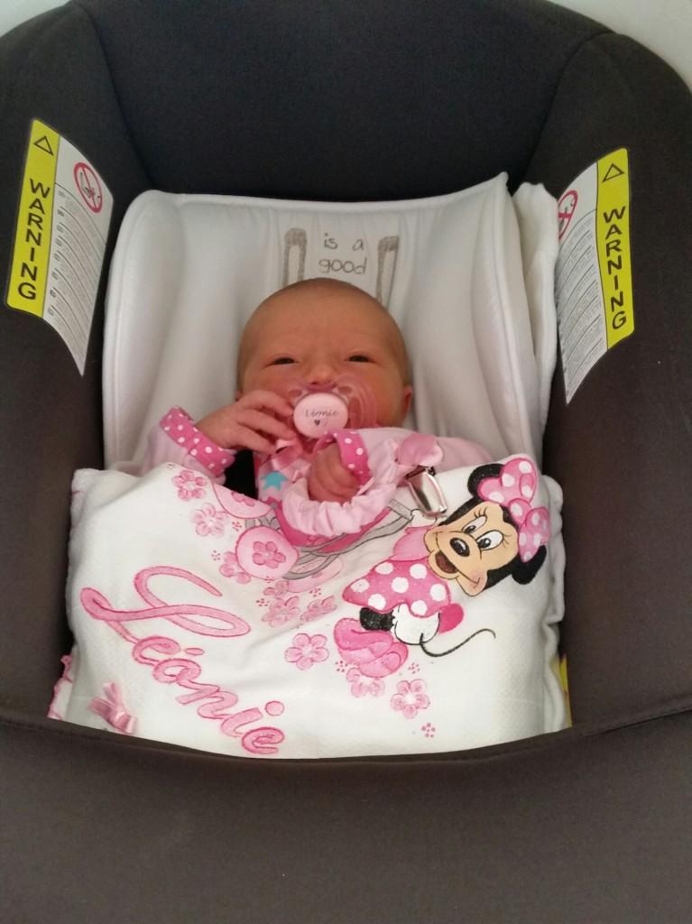 Léonie, née le 30 août.