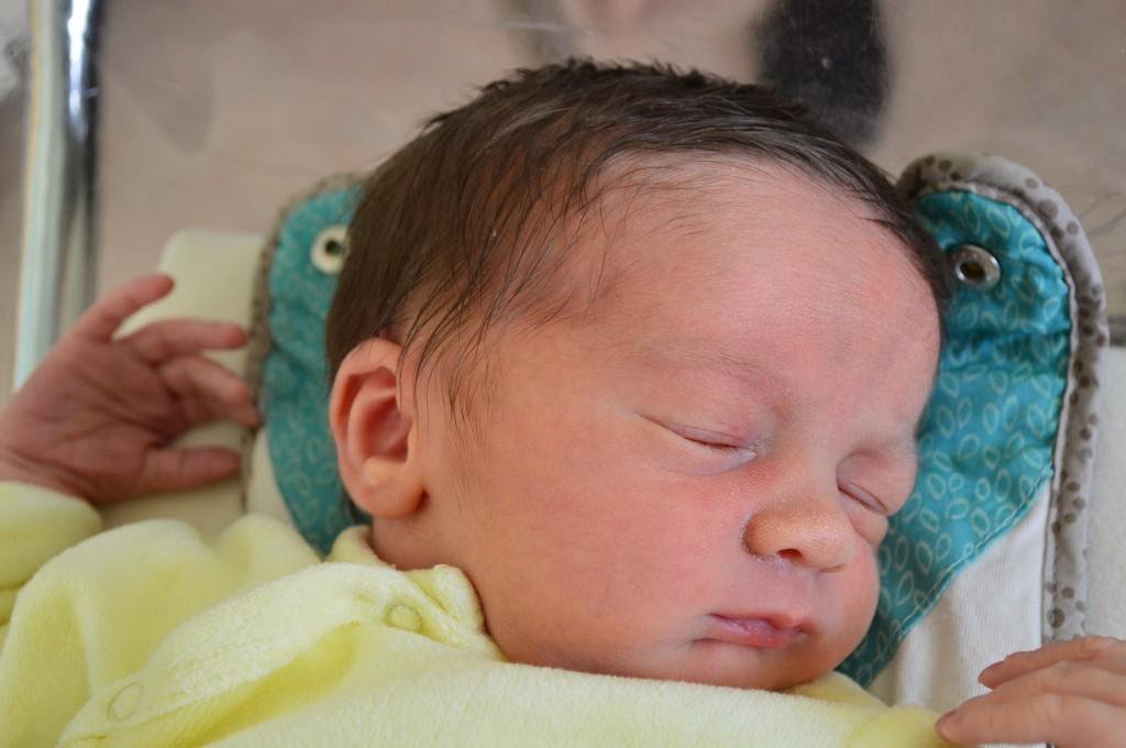 Lucas, né le 20 août.