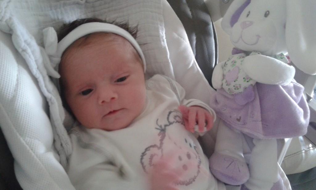 Lucylle, née le 14 août.