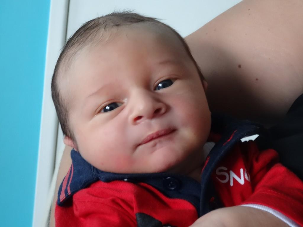 Mathéo, né le 24 août.