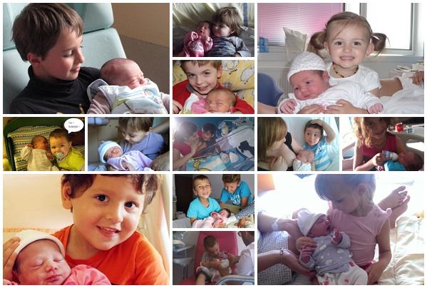 J/'ai la meilleure sis soeur jamais mignon nouveau-né bébé bib