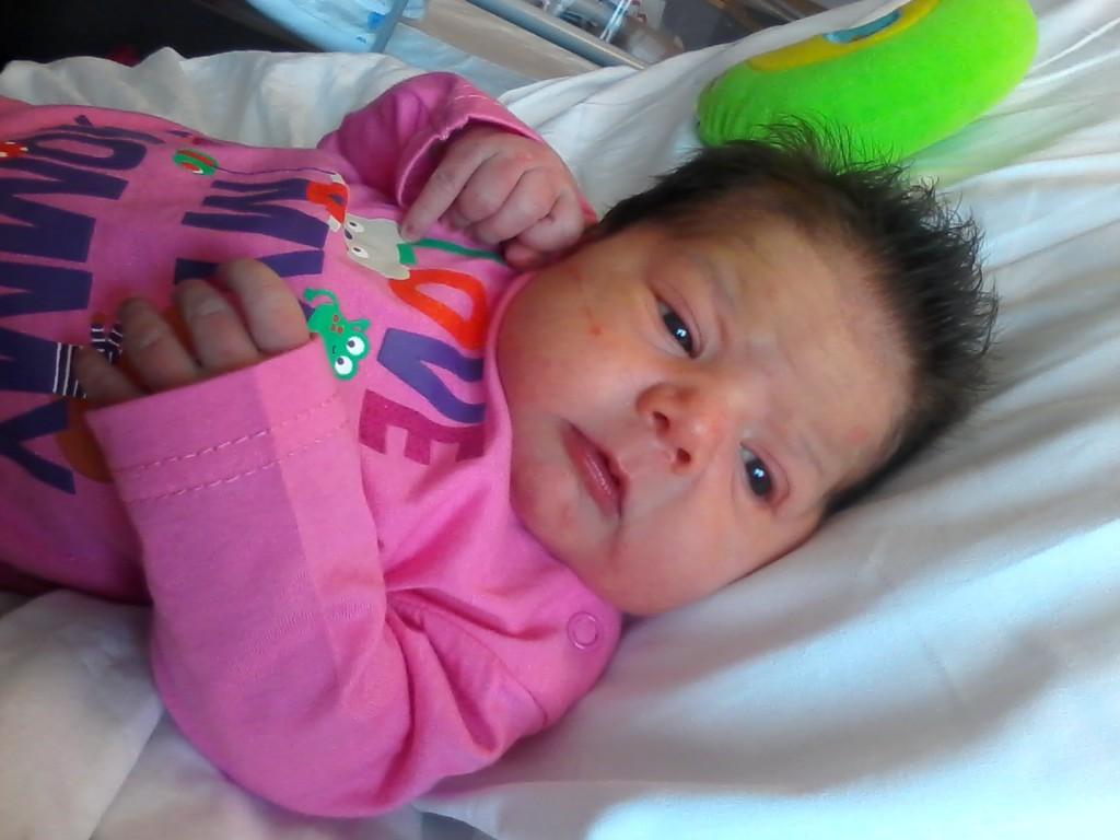 Nayah, née le 24 août.