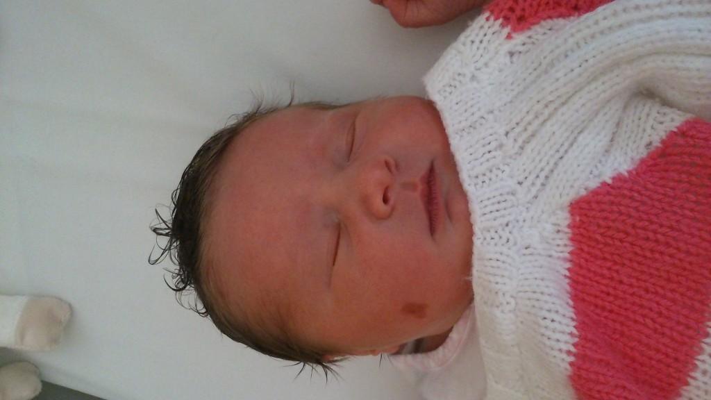Chloé, née le 16 septembre 2014.