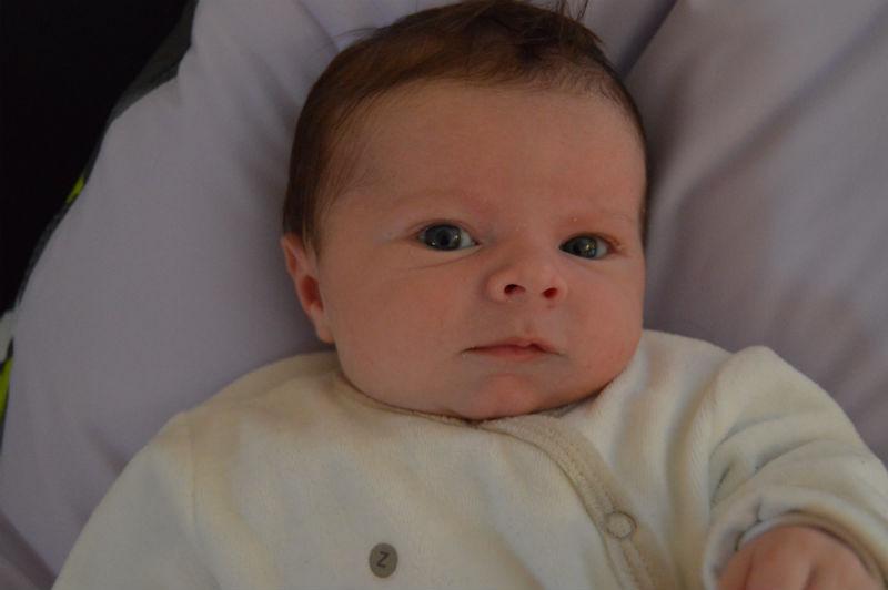 Clément, né le 27 septembre.