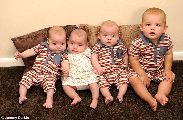 Couple 4 enfants 4