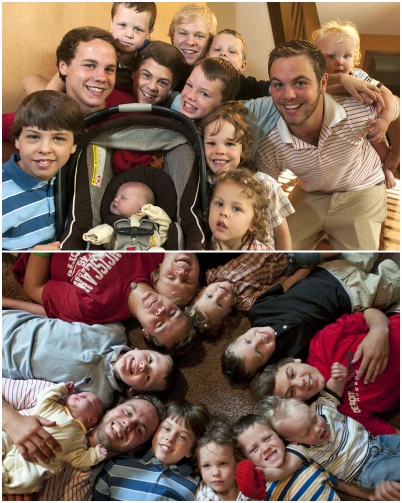 Les 12 garçons de la famille Schwandt