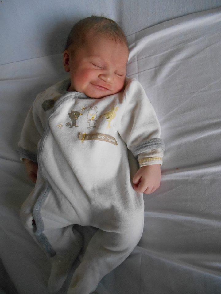 Léa née le 13 septembre 2014.