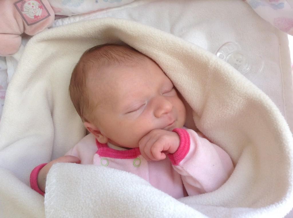 Loona Bernadinello, née le 20 septembre 2014.