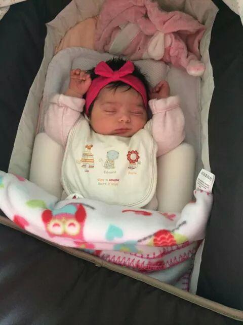 Maellys, née le 12 septembre 2014.