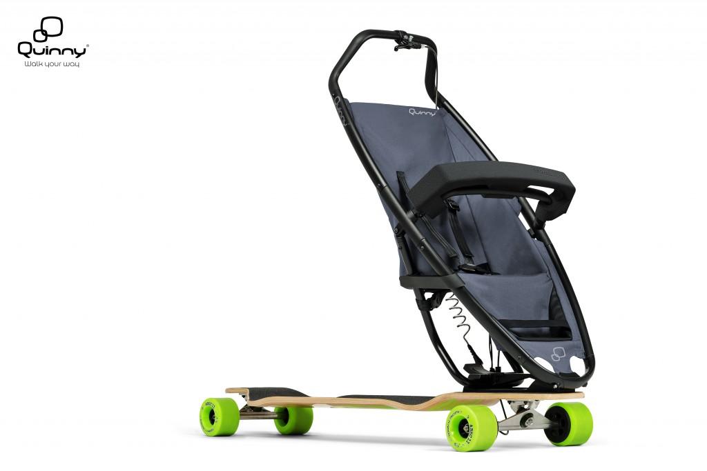 Quinny - Longboardstroller 1