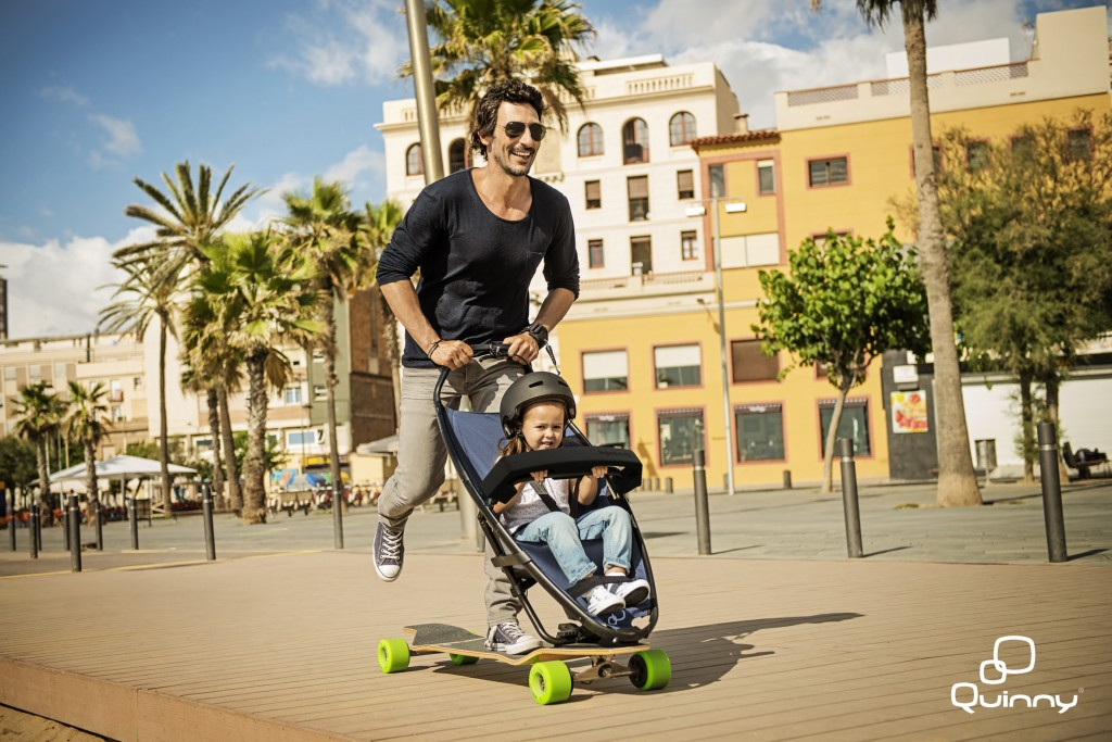 Quinny Longboarstroller Lifestyle 3