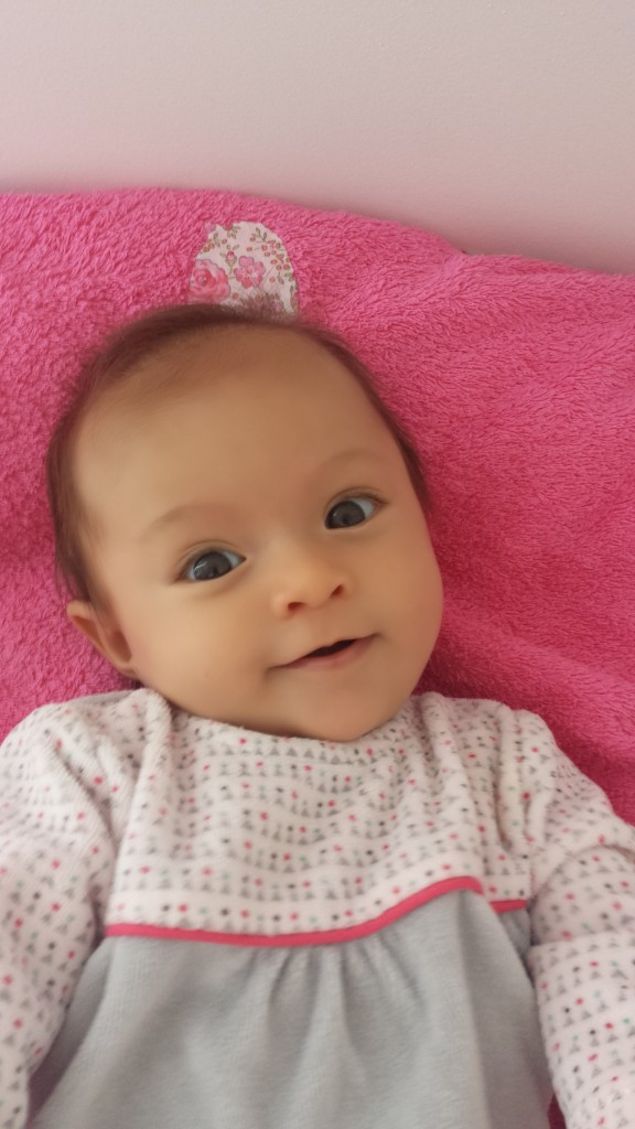 Angelina, née le 1er septembre 2014.