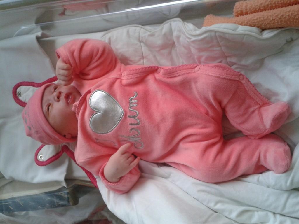 Ariel, née le 7 septembre 2014.