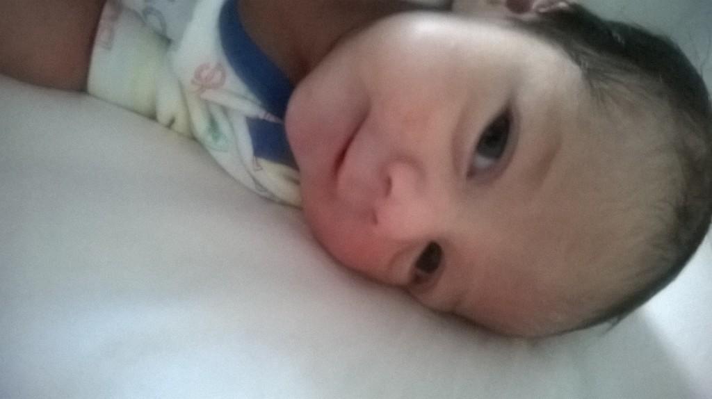 Aurèle née le 12 septembre 2014.