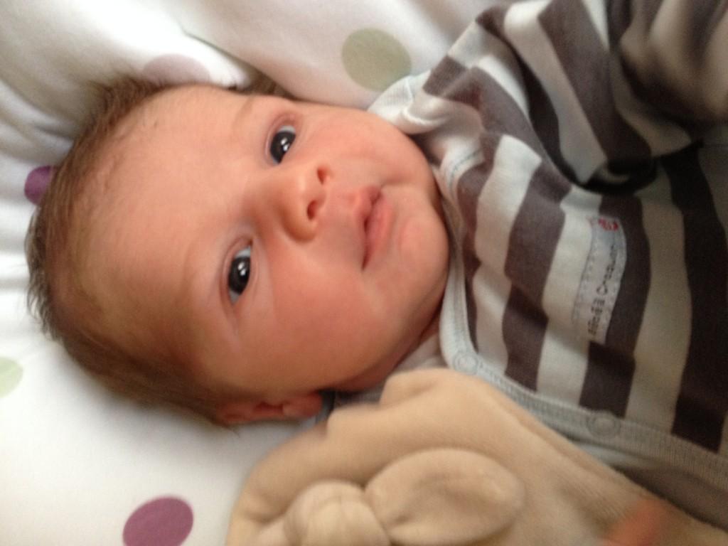 Charlie, né le 1er septembre 2014.