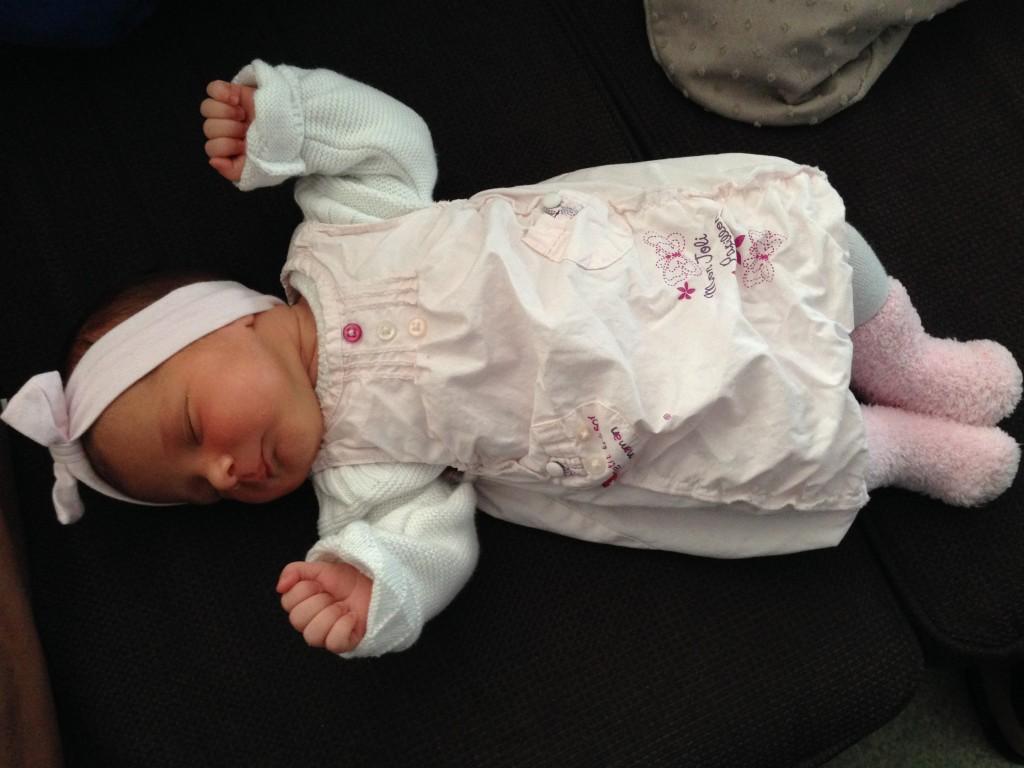 Emy, née le 10 septembre 2014.