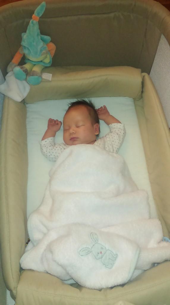 Evan, né le 3 septembre 2014.